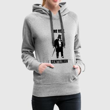 The Real Gentleman - Frauen Premium Hoodie