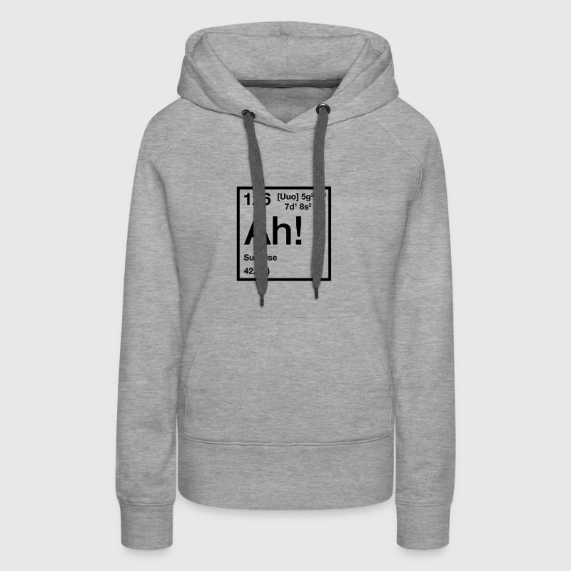 The Element of Surprise - Frauen Premium Hoodie