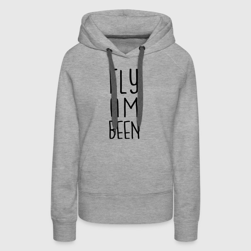 fly am been - Frauen Premium Hoodie