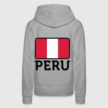 National Flag of Peru - Women's Premium Hoodie