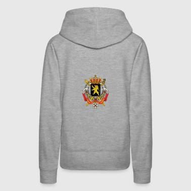 National Coat of Arms of Belgium - Naisten premium-huppari