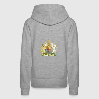 National Coat of Arms of the United Kingdom - Women's Premium Hoodie