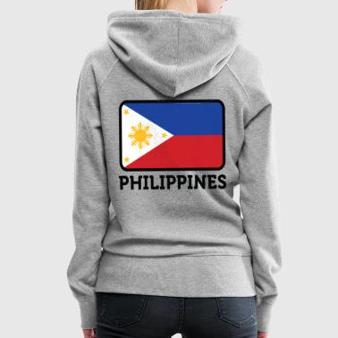 Nationalflagge der Philippinen - Frauen Premium Hoodie