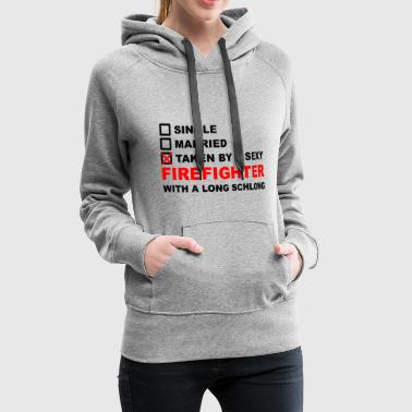 Firefighter T-Shirt Gift Funny Birthday - Women's Premium Hoodie