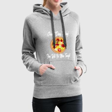 Low Carb Cheat Day Pizza Carbs Diet Ketogenic - Women's Premium Hoodie