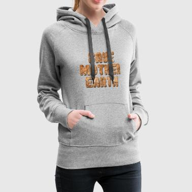 Nature Earth Climate Trees Life Tree Mother Earth Live - Women's Premium Hoodie