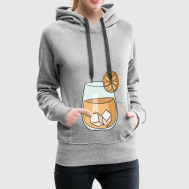 cocktail 7 - Sweat-shirt à capuche Premium pour femmes