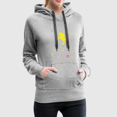 Yellow star - Women's Premium Hoodie