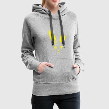 Kiky Rabbit yellow - Frauen Premium Hoodie