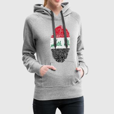 IRAQ FINGERABPRESSION - Women's Premium Hoodie