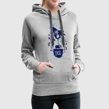 ME YOU TEA, Teabags, Tea, Tea, Teapot - Women's Premium Hoodie