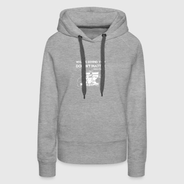What's behind you - Women's Premium Hoodie