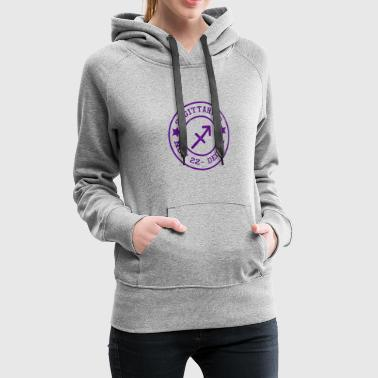 Signs of the Zodiac Sagittarius - Women's Premium Hoodie