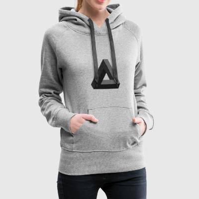 Impossible Diffusion - Vrouwen Premium hoodie