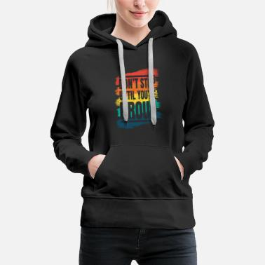 Hustle Do not stop fitness motivation - Women's Premium Hoodie