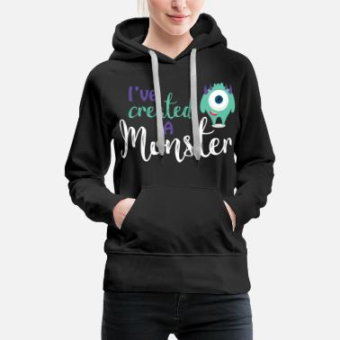 Mother Parents - child - Partnerlook - Monster parents - Women's Premium Hoodie