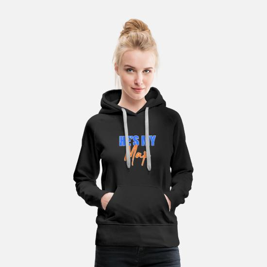 Bride Hoodies & Sweatshirts - Pair - Women's Premium Hoodie black