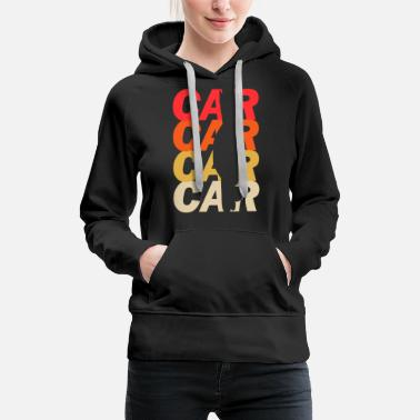 Course Automobile course automobile - Sweat à capuche premium Femme