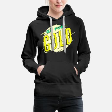 Medal Gold medal cup first place winner champion - Women's Premium Hoodie