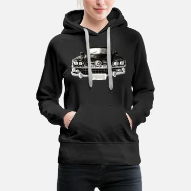 Antique car - Women's Premium Hoodie