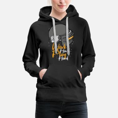 Team Sport work hard play hard - Women's Premium Hoodie