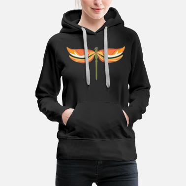 Filigree Dragonfly filigree - Women's Premium Hoodie
