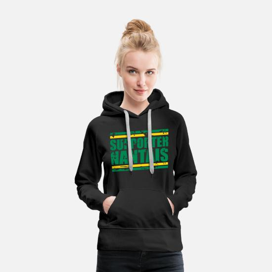1943 Hoodies & Sweatshirts - Supporters Nantes - Women's Premium Hoodie black