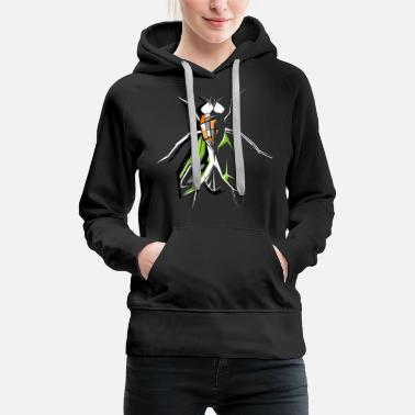 Fly-insect fly insects insects fly fly symbol - Women's Premium Hoodie