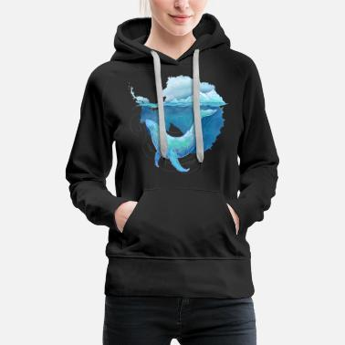 Whale Sanctuary - Women's Premium Hoodie