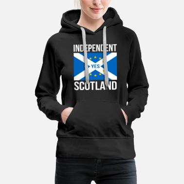 Europe SCOTTISH INDEPENDENCE INDEPENDENT SCOTLAND - EU - Frauen Premium Hoodie