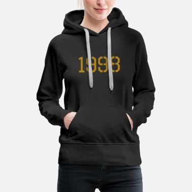 Production Year 1998 year of production gold - Women's Premium Hoodie