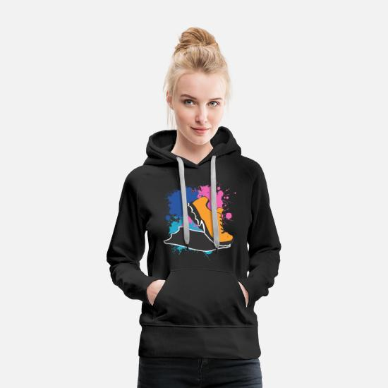 Running Hoodies & Sweatshirts - To run - Women's Premium Hoodie black