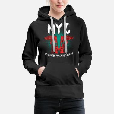 Central Park New York - Frauen Premium Hoodie