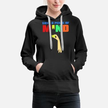 Strange Spread the Love with this Peace of mind Tshirt - Women's Premium Hoodie