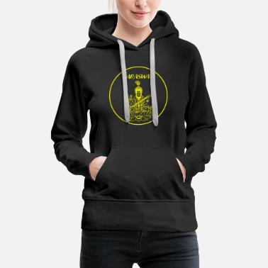 Believe Buddhism Saraswati music God celebration gift - Women's Premium Hoodie