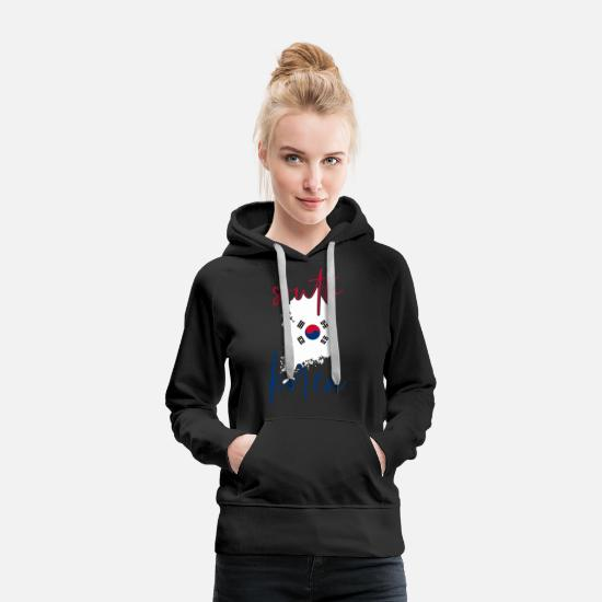 Patriot Hoodies & Sweatshirts - South Korea - Women's Premium Hoodie black