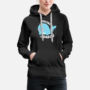 Mythical Beast narwhal - Women's Premium Hoodie