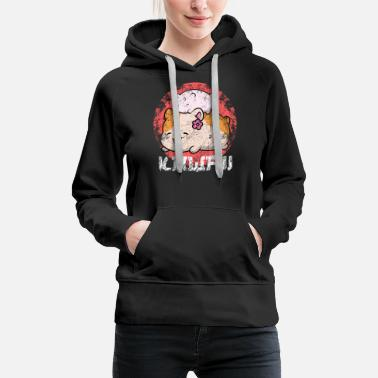 Japanimation Kawaii hamster japanimation fashion trend - Women's Premium Hoodie