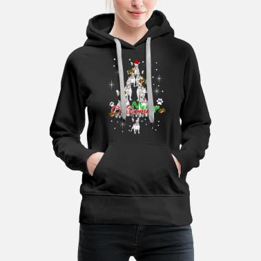 Cold Merry Christmas And French Bulldog Tree Shirt - Women's Premium Hoodie