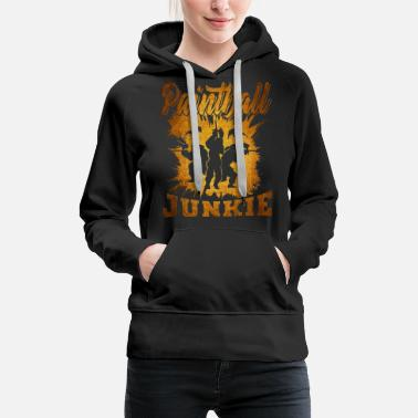 Mark Something Paintball - Women's Premium Hoodie
