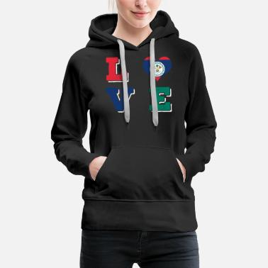 Home Country belize - Women's Premium Hoodie