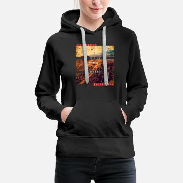 West Coast Los Angeles USA Amerika - Frauen Premium Hoodie