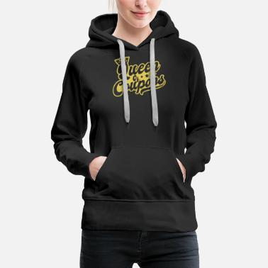 Shopping Couponer Queen Of Coupons Gift - Sweat à capuche premium Femme