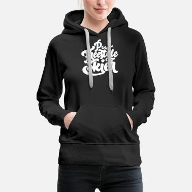 Freestyle Freestyle skiing freestylers - Women's Premium Hoodie