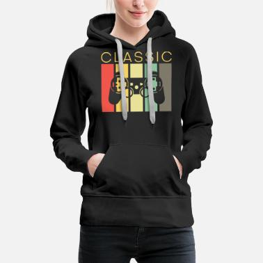 Classic video games - Women's Premium Hoodie