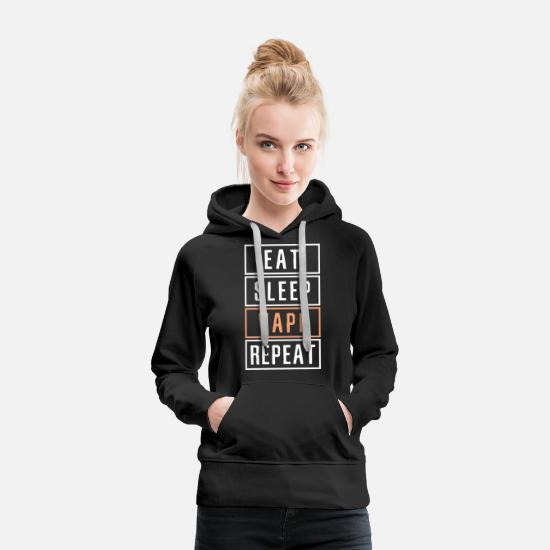 Vaping Hoodies & Sweatshirts - Vape Shop Vaping E-Cig - Women's Premium Hoodie black