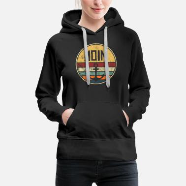 Anker Moin Anker Vintage Retro Style Distressed Norden - Frauen Premium Hoodie
