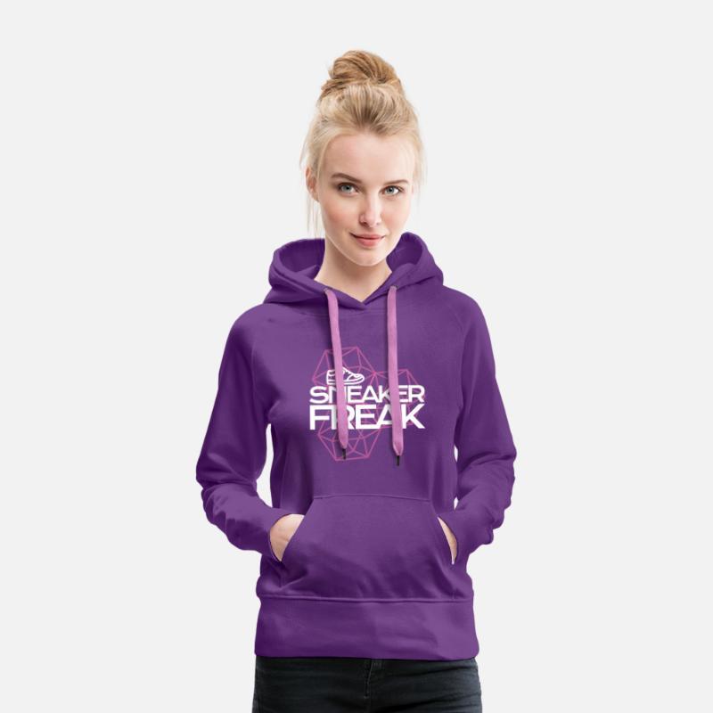 Sneaker Freak Frauen Premium Hoodie Purple