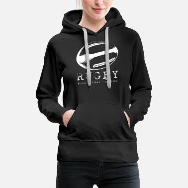 Rugby Rugby Blood Sweat Bruises - Women's Premium Hoodie