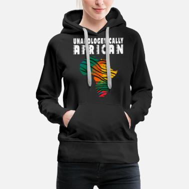 Safari unapologetically african - Frauen Premium Hoodie